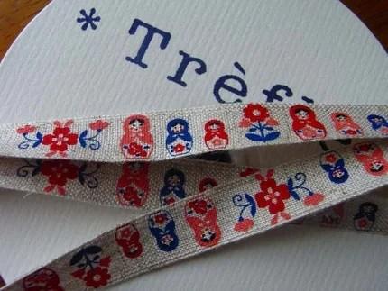 sewing tape matryoshka KOKKA