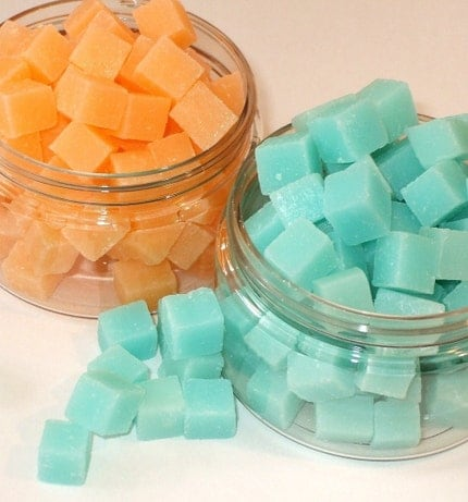 Large Jar of Soap Bit Cubes - 70 pieces