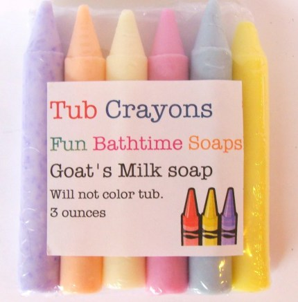 the estate of things chooses tub crayons