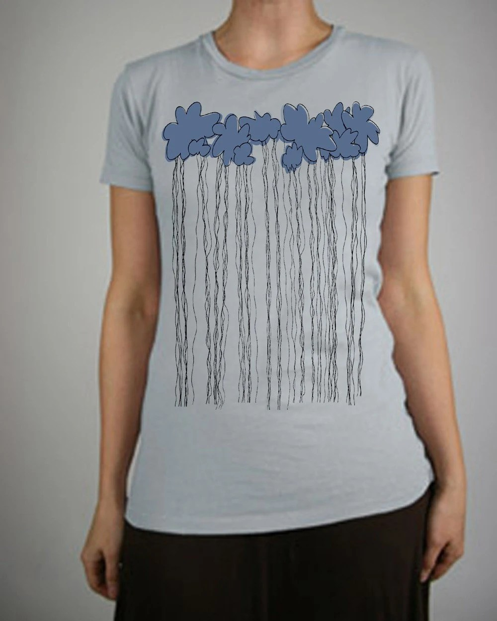 Afternoon Shower Crew Neck T Shirt