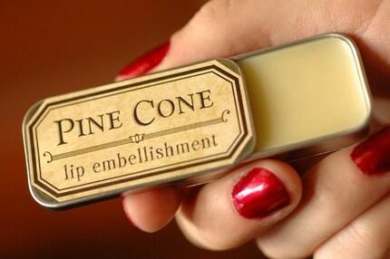 Pine Cone Lip Balm