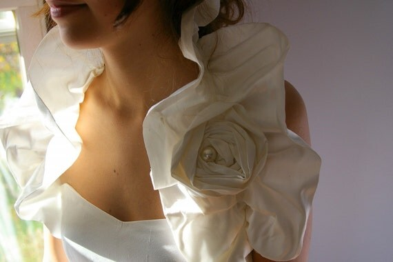 Silk Bridal Shoulder Wrap