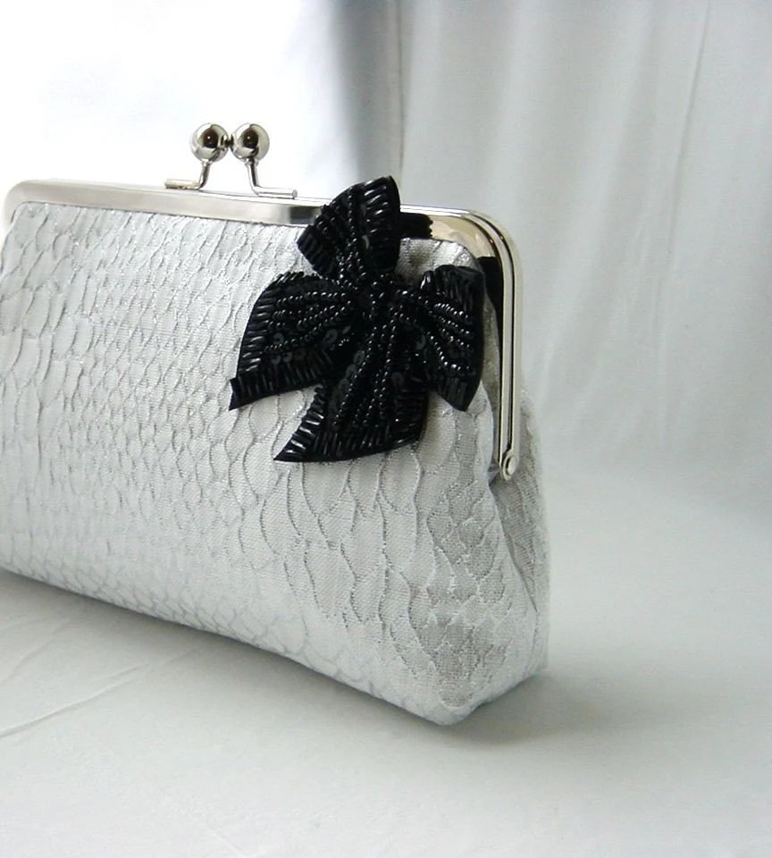 Natalie - gorgeous clutch for a bride or bridemaids
