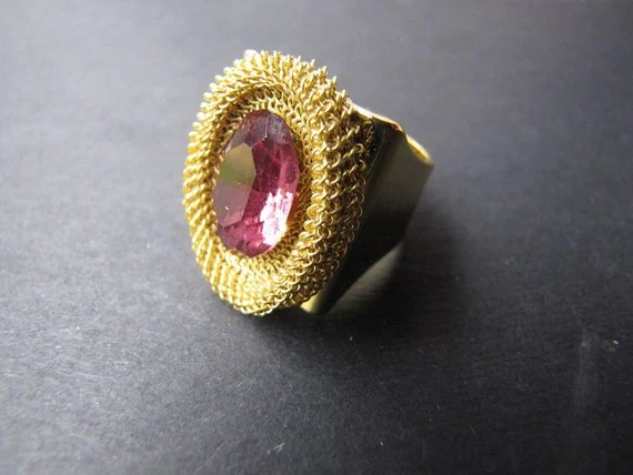 Ruby Gifts Cocktail Ring