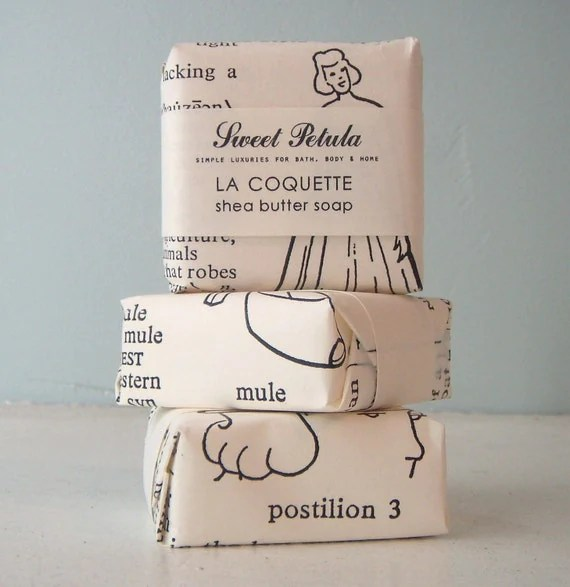 La Coquette Shea Butter Soap - Parisian, Lavender, Amber, and Tonka Bean - by Sweet Petula