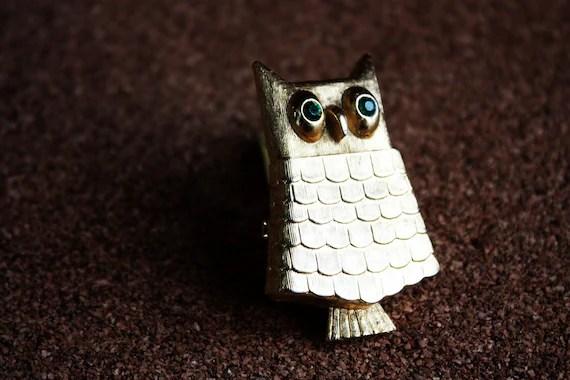 Owl Fragrance Brooch