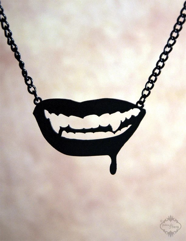 Fang Necklace by FableAndFury