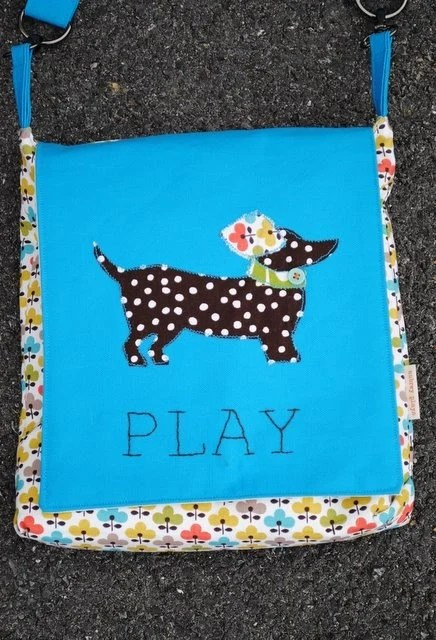 Child's Messenger Style Bag