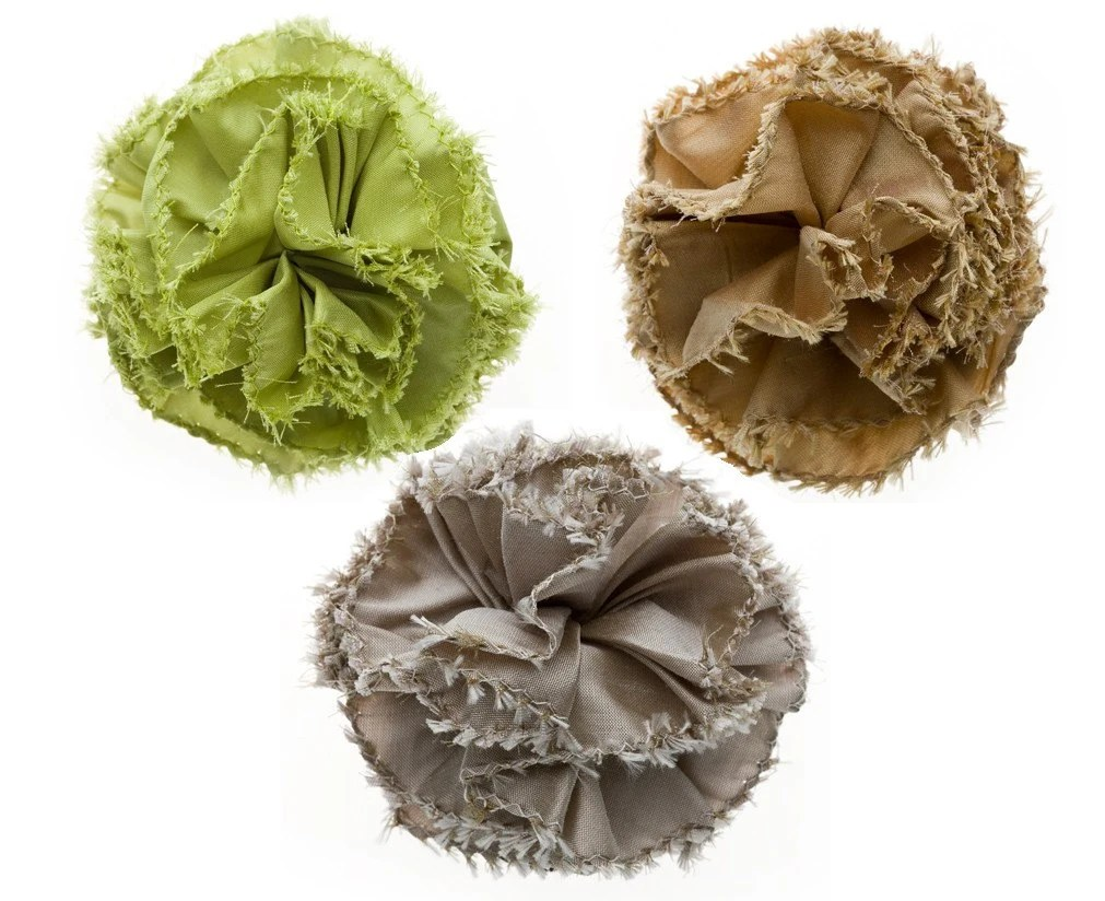 3 Flower Brooches - The Smart Kit