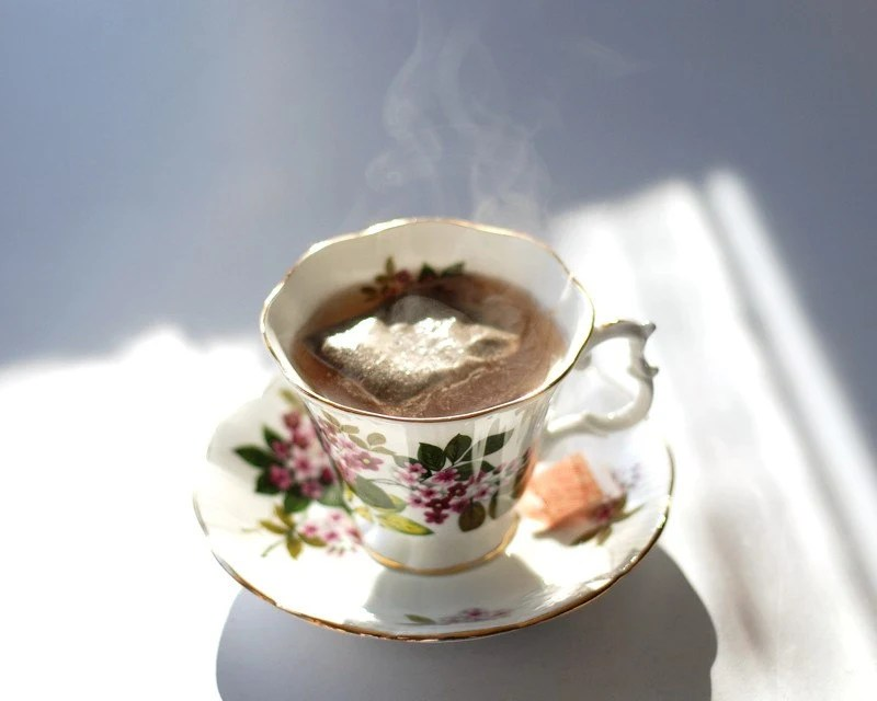 A Proper Spot of Tea -- 8x10 Fine Art Photo Print - FREE SHIPPING