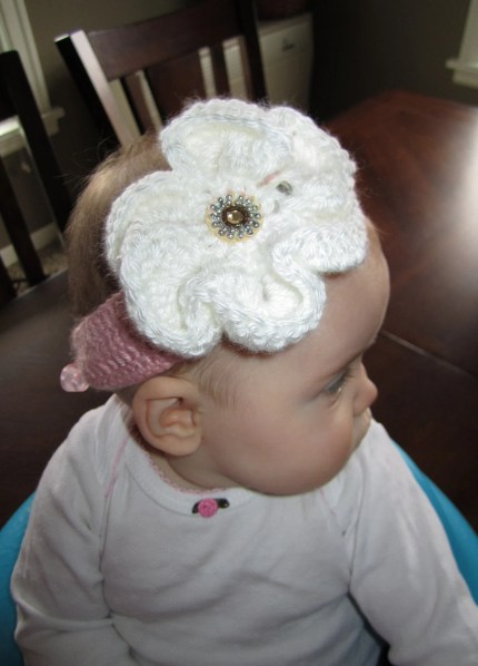 Beautiful custom headbands with detachable flowers & FREE SHIPPING