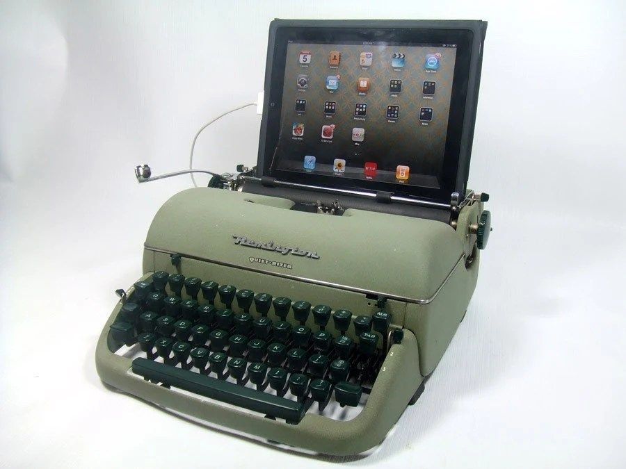 USB Typewriter -- Computer Keyboard -- Remington Quiet Riter