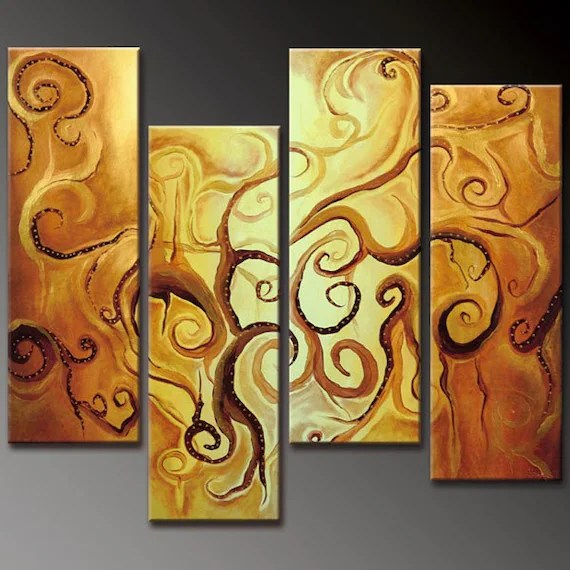 Modern Abstract Huge Canvas Oil Painting  29