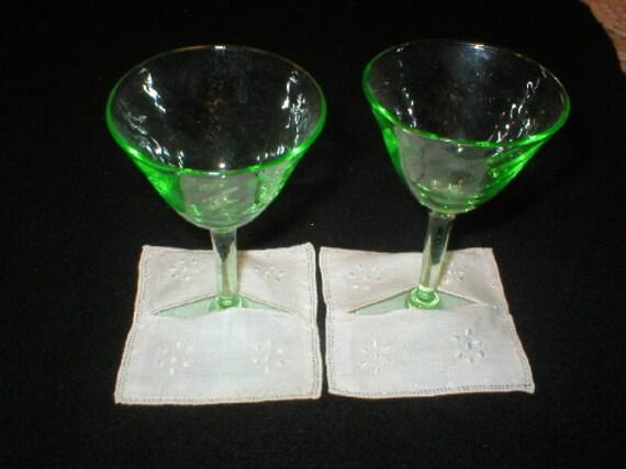 Vintage Linen Coasters