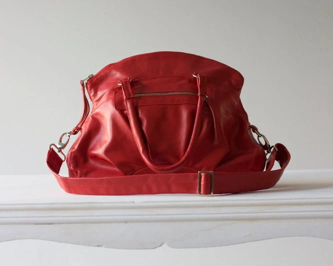 Arethusa  in  Red Leather