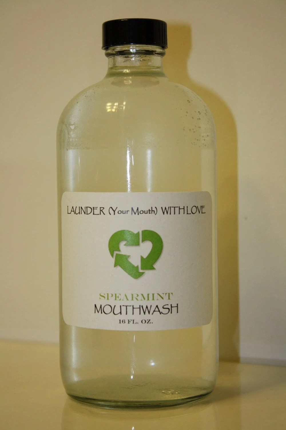 16 oz. Spearmint Mouthwash