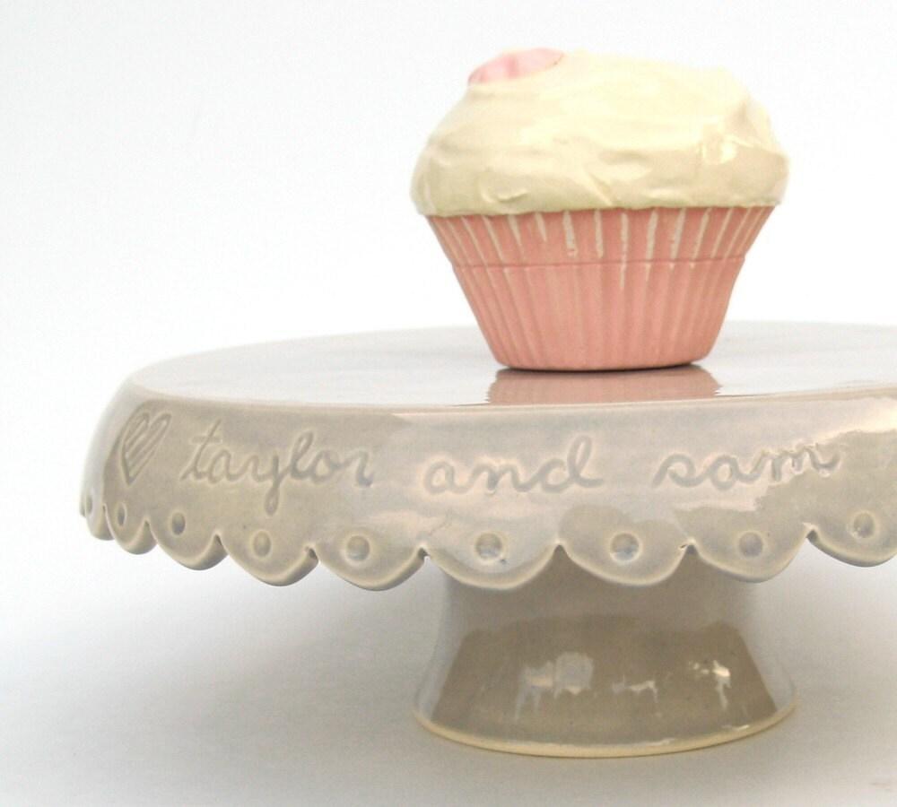 Custom Wedding cake stand