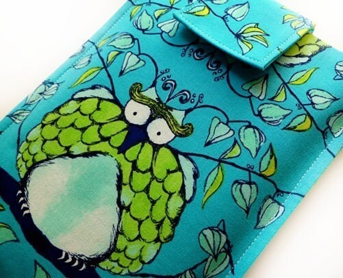 Funky Handmade Kindle Cover - Hoot Owl