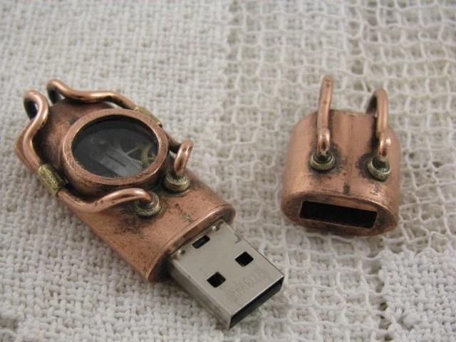 Steampunk-Stick (c) Etsy