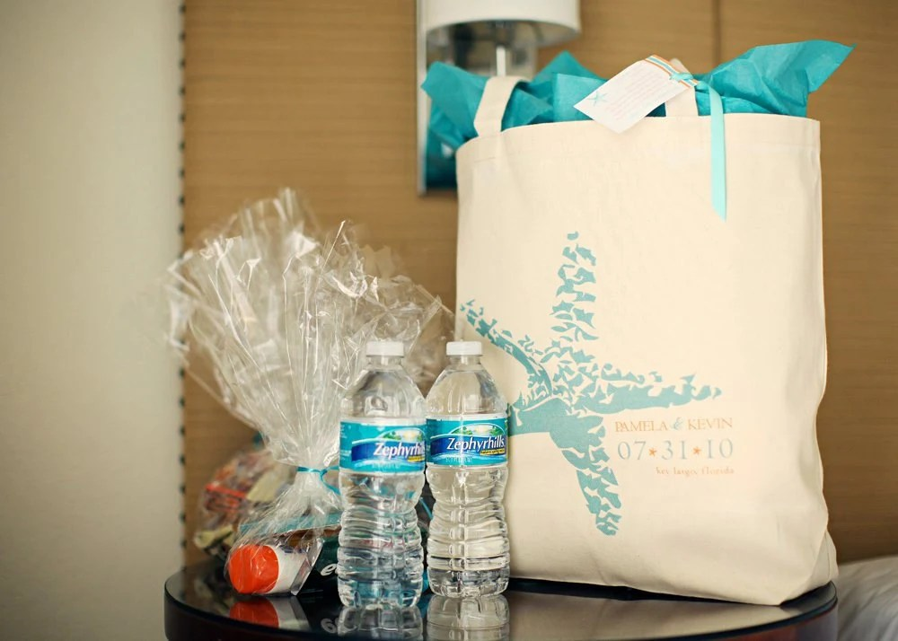 Destination Wedding Gift Bags?..Behind The Wedding