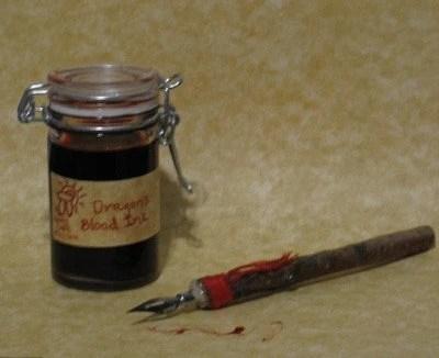 dragons blood ink