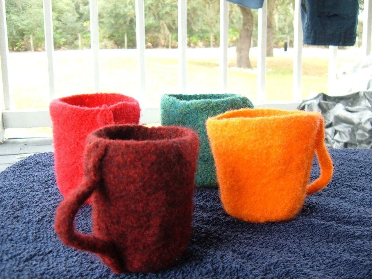 Felted Tea Party Set