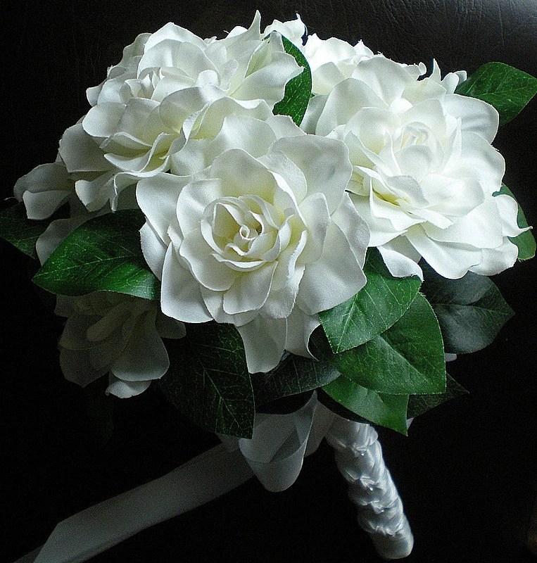 Gardenia Bouquet Wedding Celebrity Image Gallery