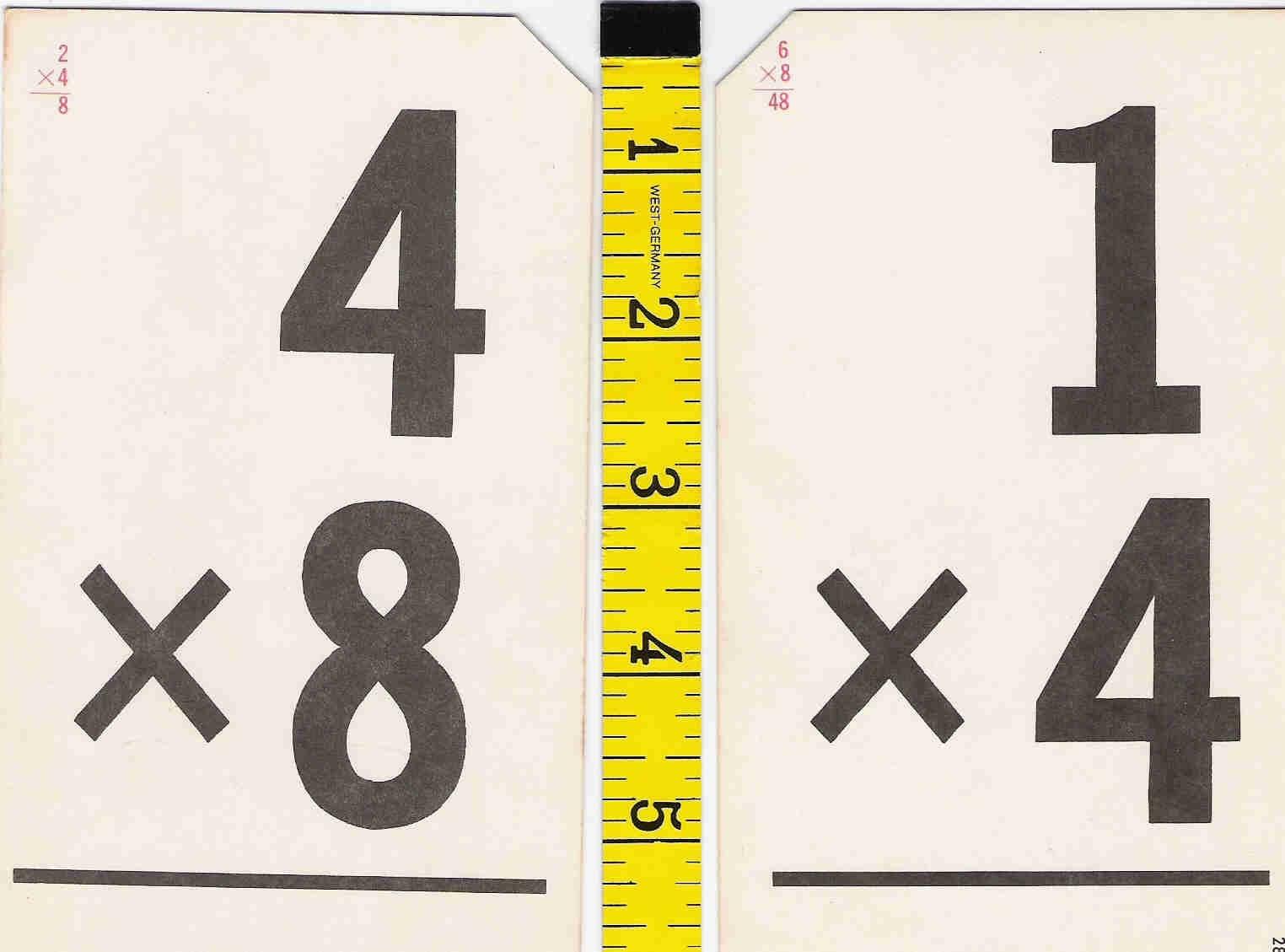 Two Digit Multiplication Secret Codes Harder