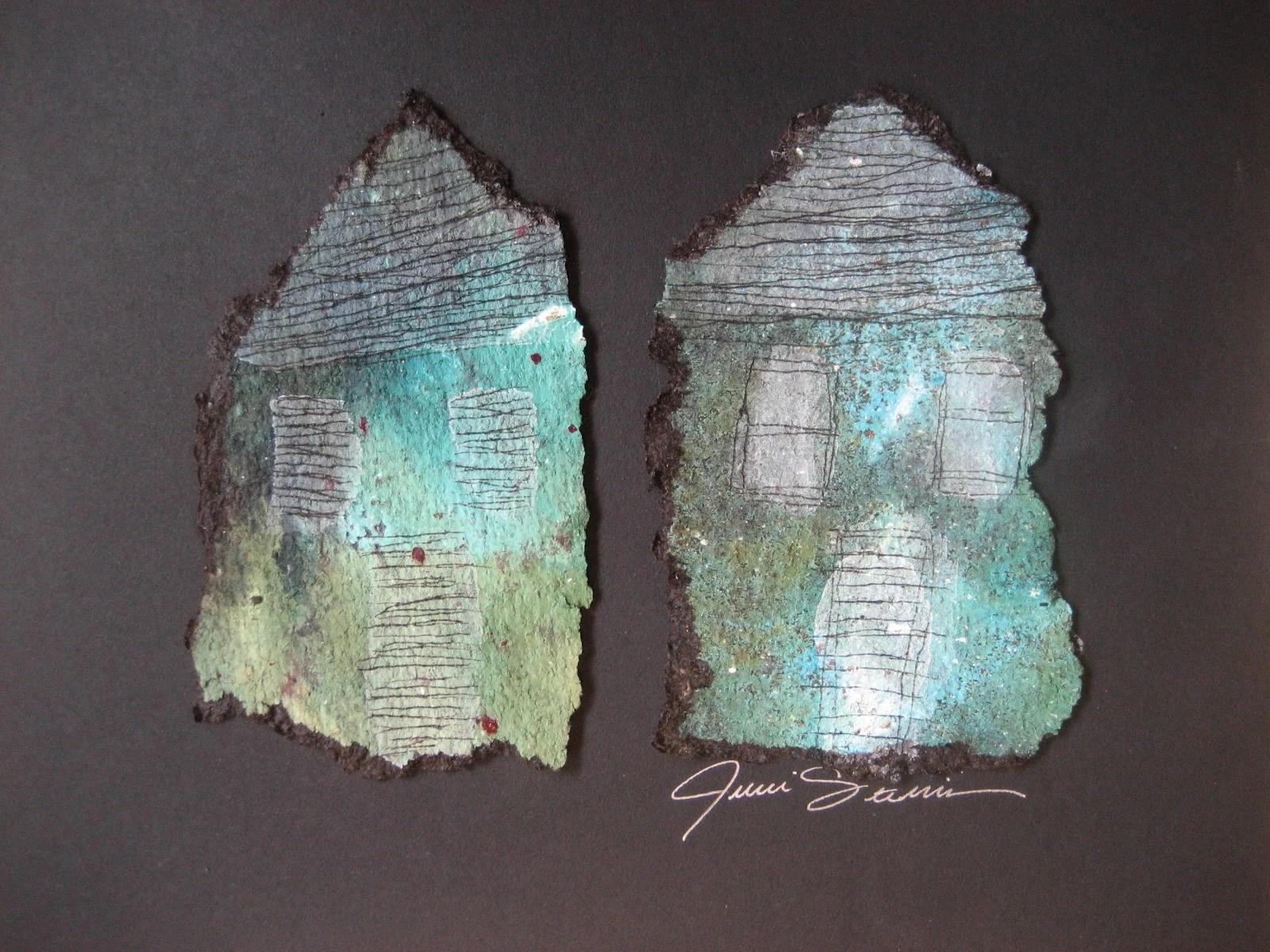 tar paper houses