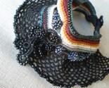 Vim -  Black  ... Crochet Cuff