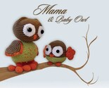 Amigurumi Mama and Baby Owl Pattern