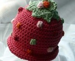 Dark Pink BobbleBerry Hat 4-18m