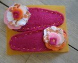 Wool Felt Hair Clip - Pair