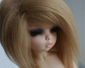 LITTLFEE/YOSD/unoa GOLDEN BLONDE fake fur wig SIZE 6/7