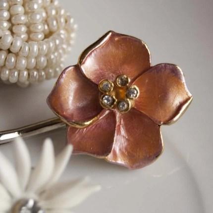 Secret Garden - bobby pins by everydayglory on Etsy