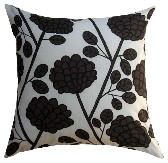 Marimekko Pillow Cover - Heila Grey