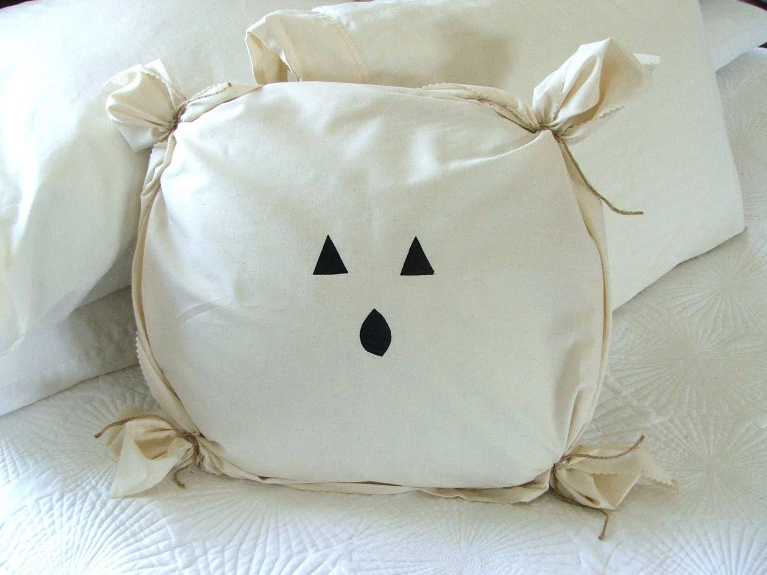 Set of 3, Halloween Silhouette pillow covers