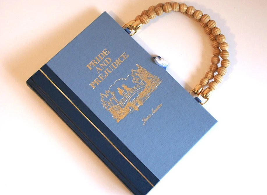 Pride and Prejudice Book Purse