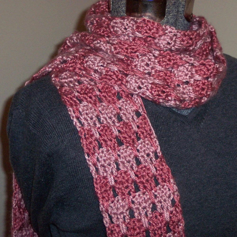 Pink Panther Tooth Scarf