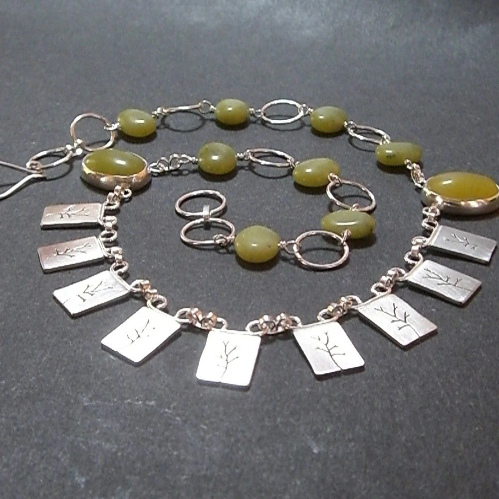 Lime Tree Necklace