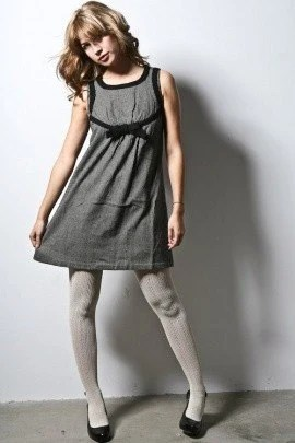 S A L E Sollette Wool Blend Bow Dress (s,m.l)