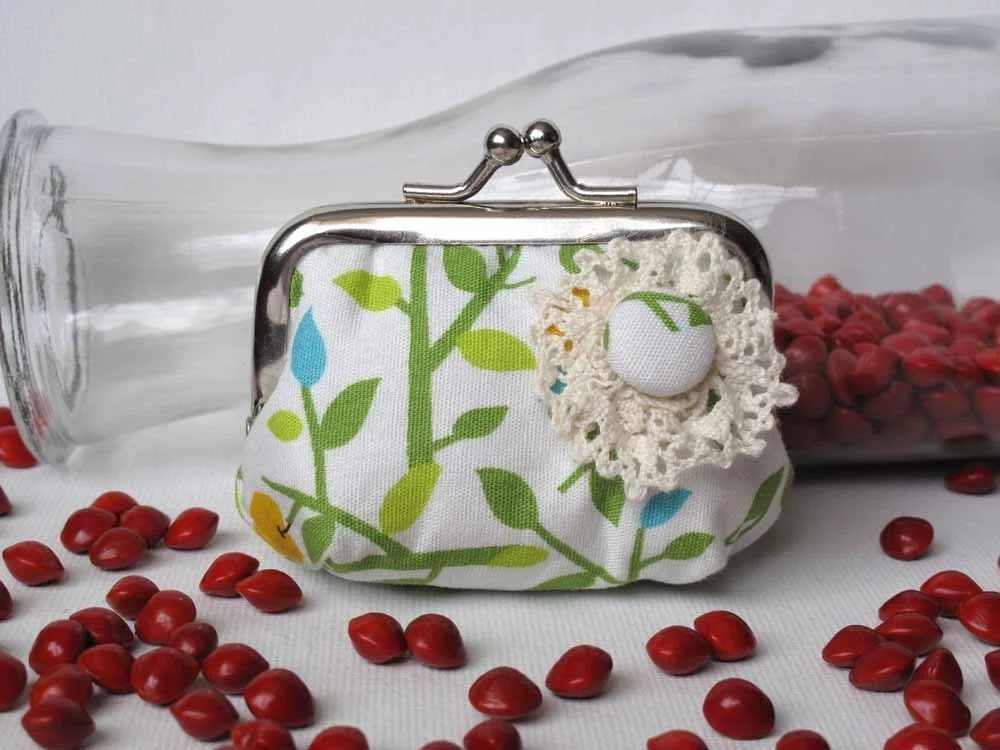 Apple Vines Coin Purse