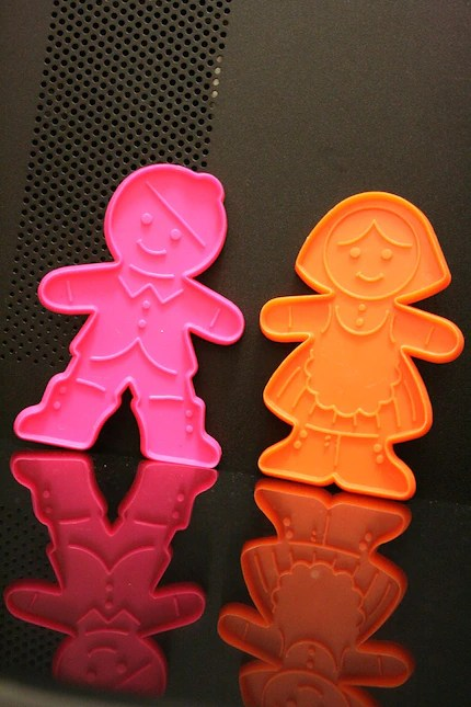Christmas Cookie Cutter Set Boy and Girl Gingerbread Man