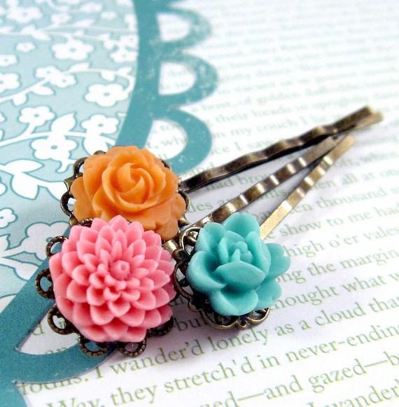 Wallflower. Hair Pins