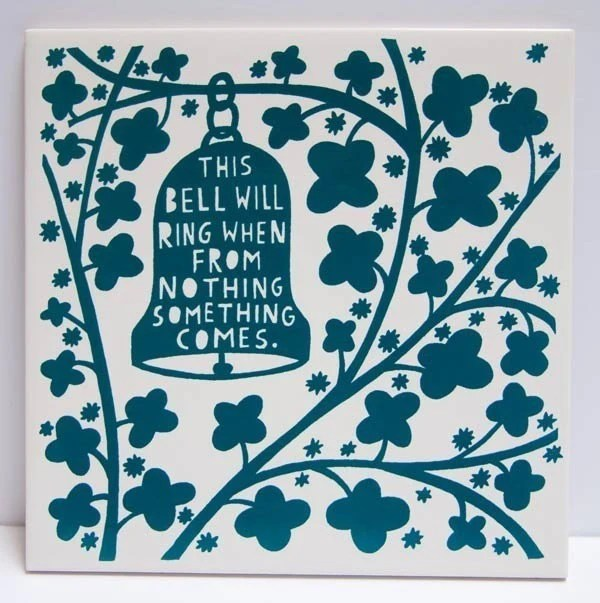 This Bell Will Ring When From Nothing Something Comes