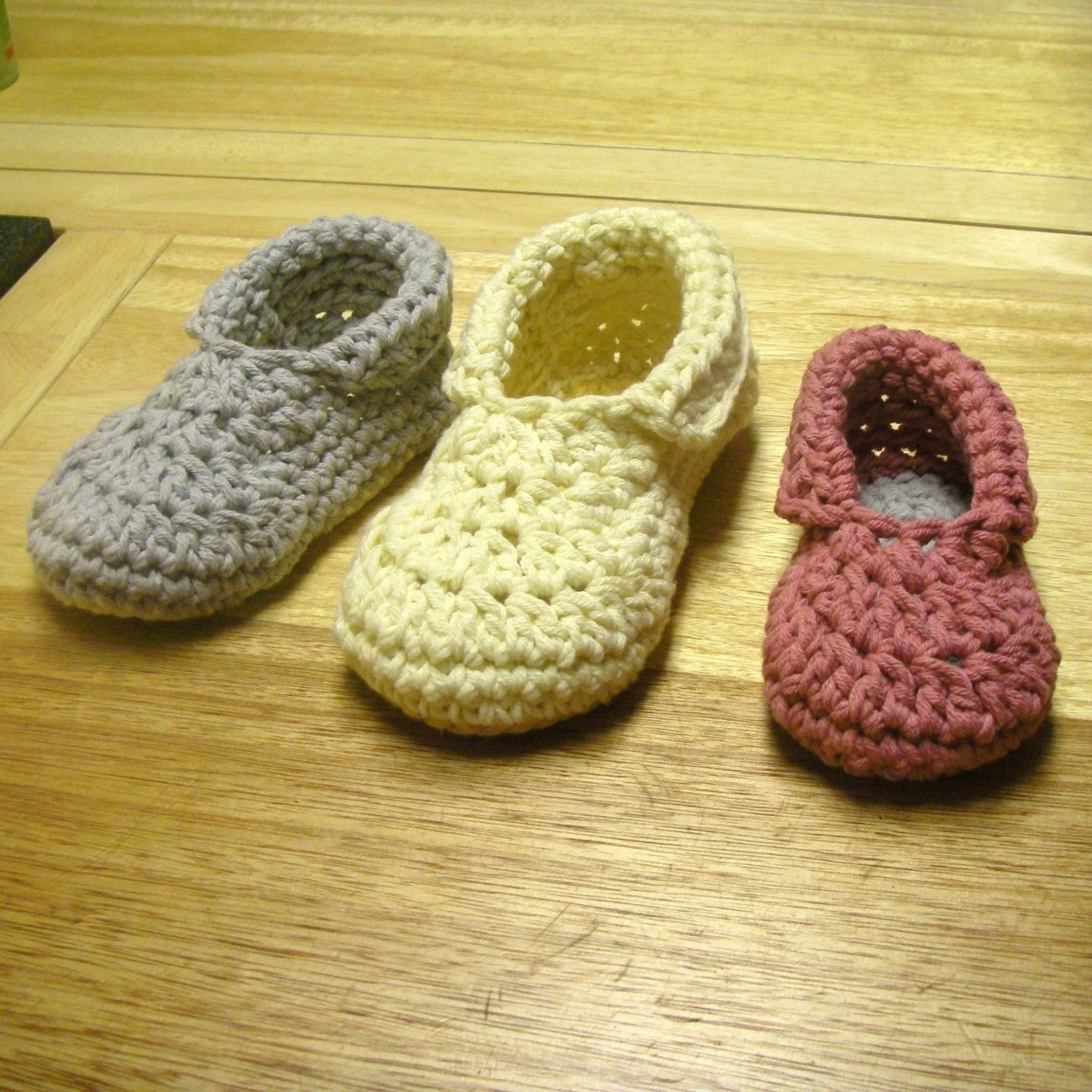 Toddler/Child Slippers PDF Pattern