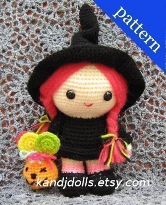 Jazzy the Good Witch - PDF Amigurumi crochet pattern