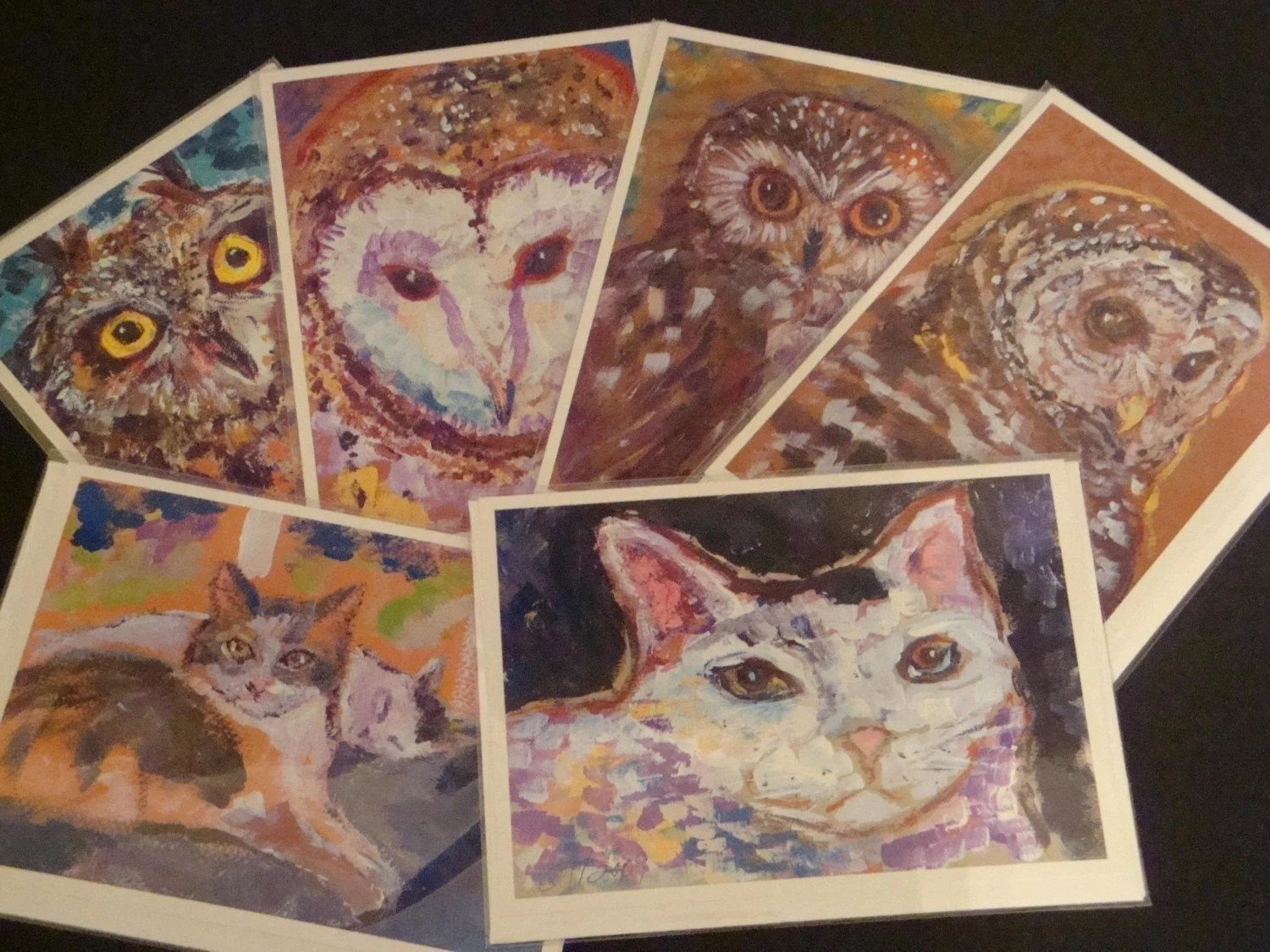 PICK YOUR SIX Original Art / Photo Greeting Cards ( 6 Pack )