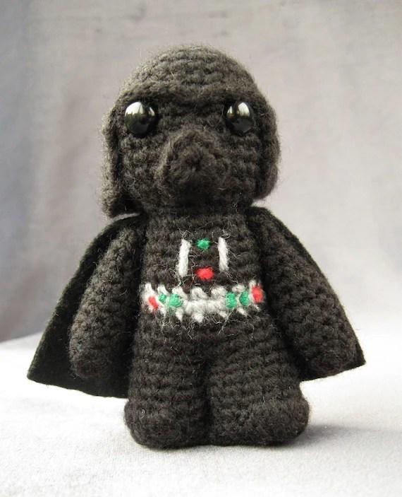 PATTERN for Darth Vader - Star Wars Mini Amigurumi