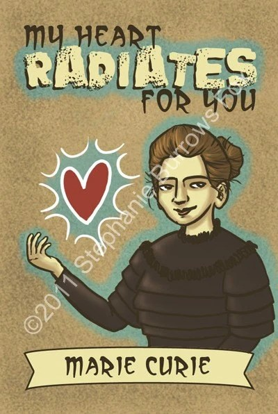 Marie Curie Valentine